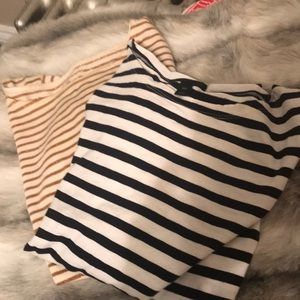 Bundle of two J. Crew long sleeved t shirts